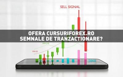 Ofera CursuriForex.ro semnale de tranzactionare Forex?
