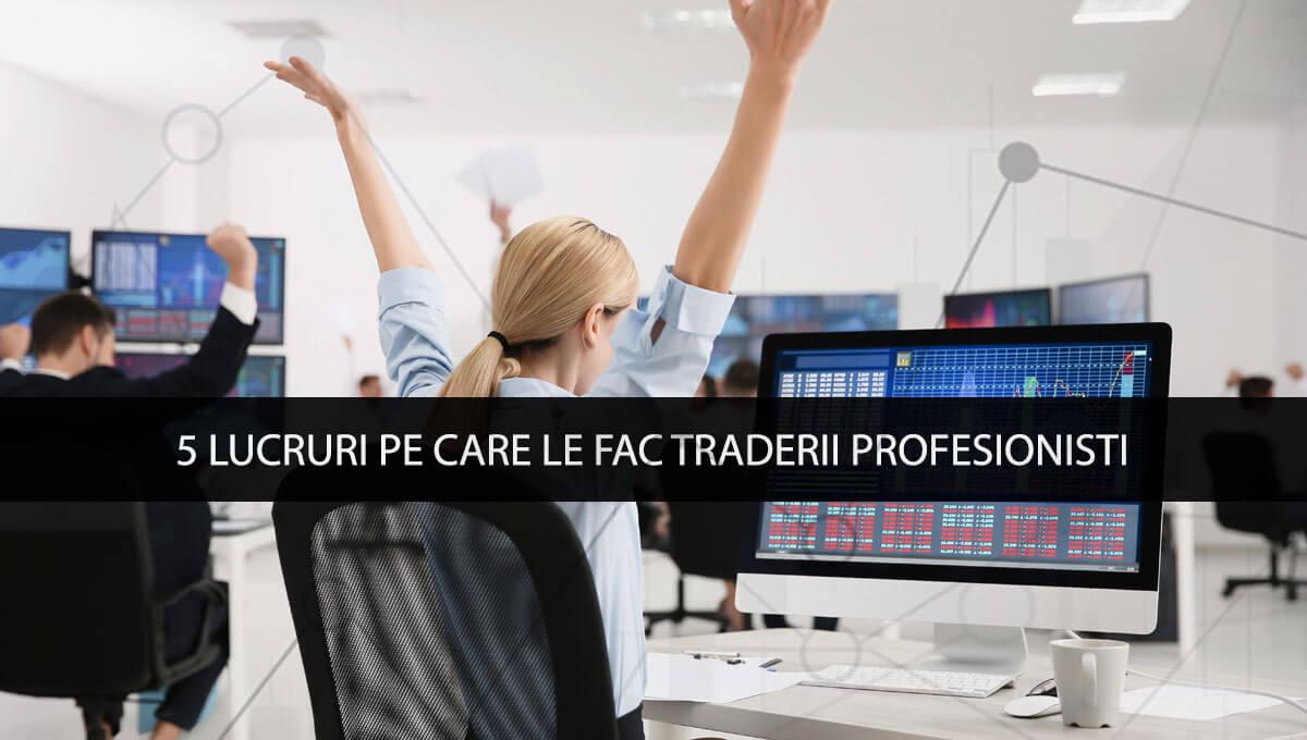 strategii comerciale ale traderilor profesioniști)