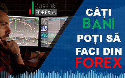 Cati bani poti sa castigi din Forex?