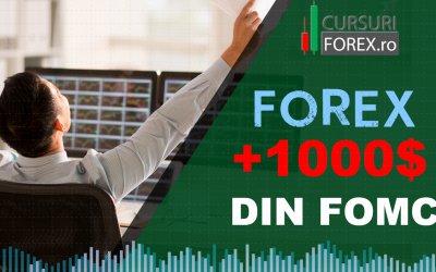 Cum sa faci +1000$ din tranzactii Forex dupa discursul FOMC