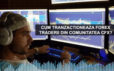 Cum tranzactioneaza Forex Traderii din Comunitatea CFX?