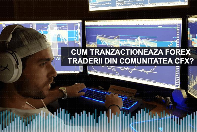 Cum tranzactioneaza Forex Traderii din Comunitatea CFX? - Cursuri Forex