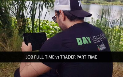Job Full-Time vs Trader Part-Time