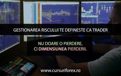 Gestionarea riscului te defineste ca trader