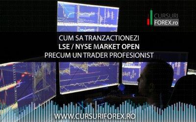 Cum sa tranzactionezi LSE / NYSE Market Open precum un trader profesionist