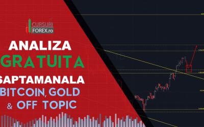 Analiza Saptamanala Bitcoin, Gold & Off Topic